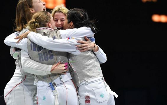 Новосибирская фехтовальщица помогла сборной России выиграть серебро на чемпионате Европы