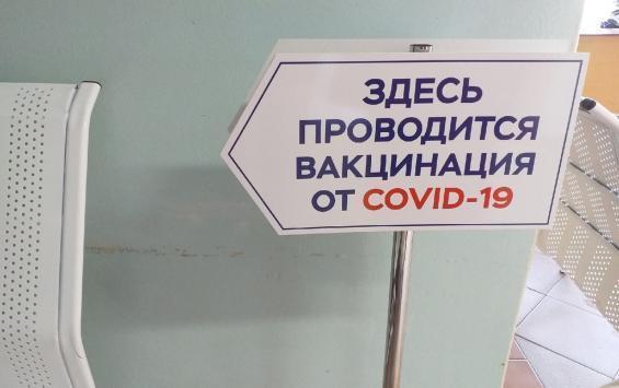 В Курской области введена обязательная вакцинация 80% сотрудников