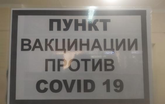 План по вакцинации в Курской области выполнен на 59%