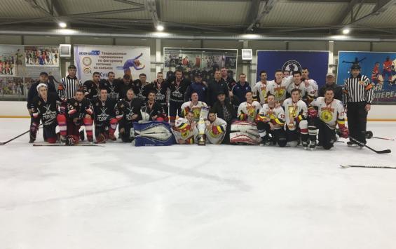 В Курске состоялся финал Ночной хоккейной лиги