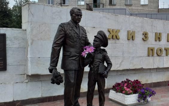 В Поныровском районе перезахоронили останки 64 советских солдат