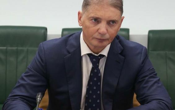Андрей Белостоцкий отчитался об итогах заседания в Совете Федерации