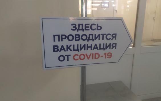 Свыше 350 тысяч курян привились первым компонентом вакцины от COVID-19