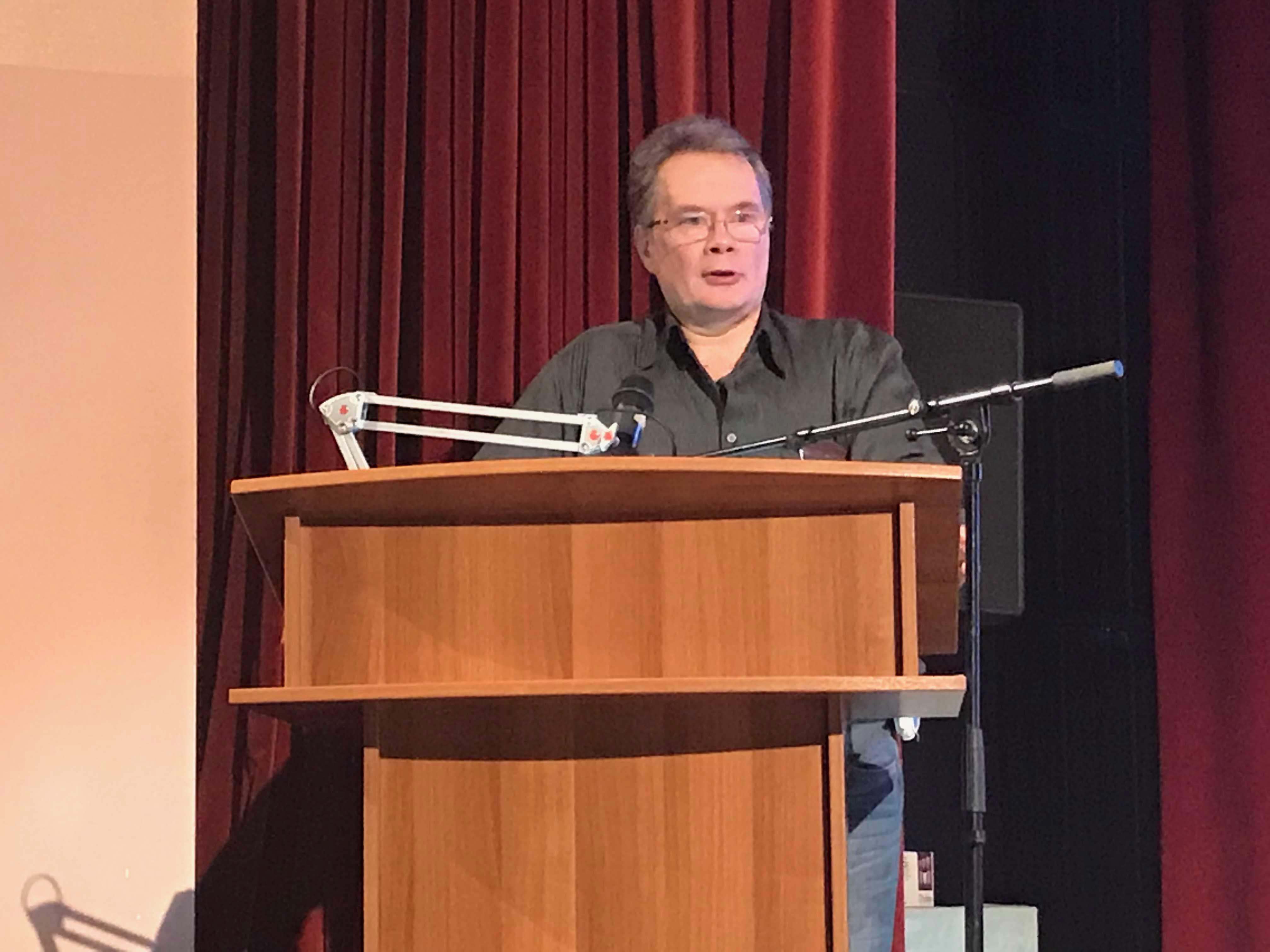 Андрей Ожаровский выступает в Курчатове